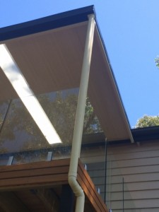 Gutter and Downpipe